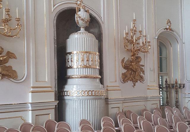 Eszterházy kastély egyik terme